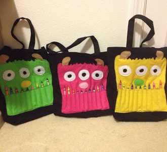Monster Busy Bags