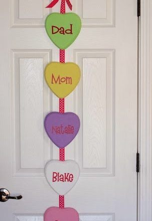 Conversation Heart Hanging
