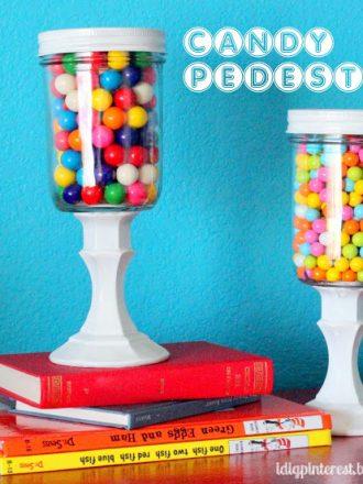 Candy Jar Pedestals