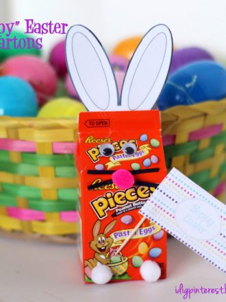 """Hoppy Easter"" Bunny Cartons"