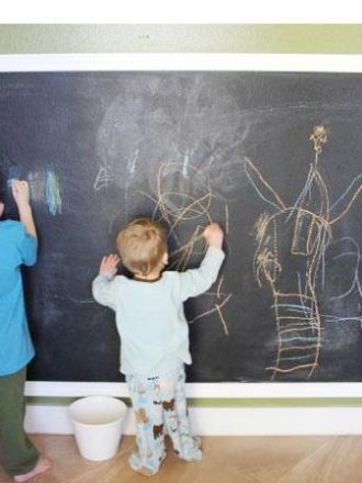 Reader Submission: Chalkboard Wall Tutorial