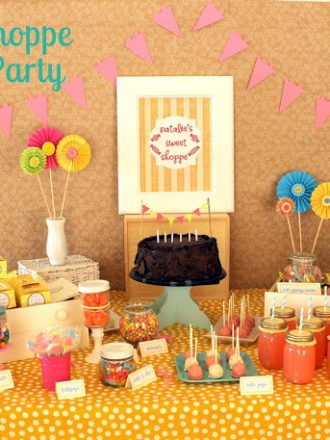 Sweet Shoppe Candy Birthday Party