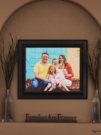 Simple Family Photo Displays