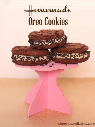 Homemade Soft Oreo Cookies