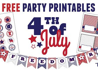 Free 4th of July Printables!!