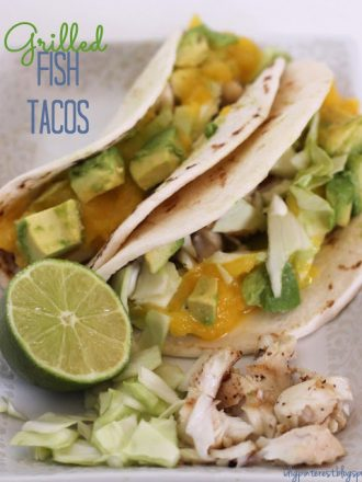 Light & Healthy Grilled Fish Tacos