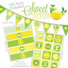 FREE Summer Citrus Printables!