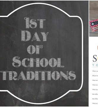 Fun First Day of School Traditions