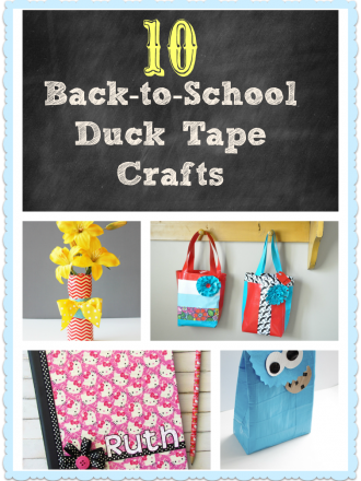 10 Awesome Duck Tape® Back-to-School Crafts
