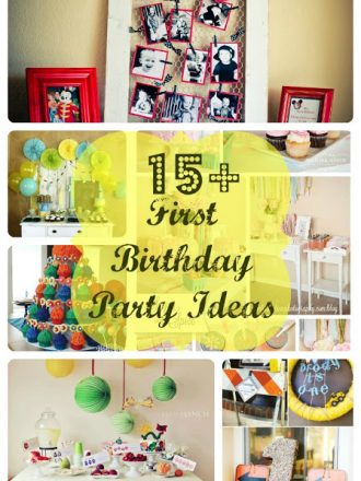 15+ Fabulous First Birthday Party Ideas