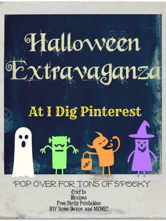 Counting Down to the I Dig Pinterest September Halloween Extravaganza!