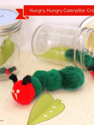 Crafting with Kids: Very Hungry Caterpillars