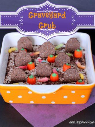 Graveyard Grub Halloween Dessert