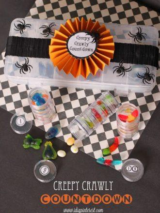 """EEK-ologist"" Halloween Project: Creepy Crawly Countdown"