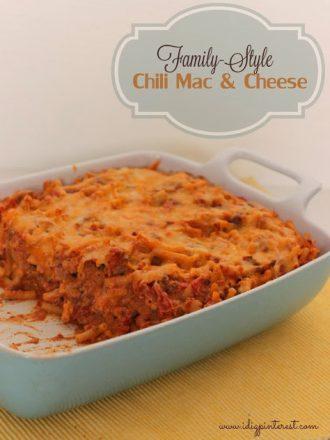 Family-Style Chili Mac & Cheese