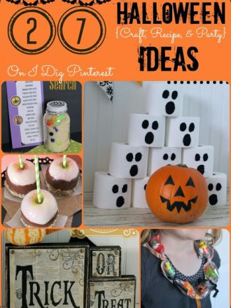 27 Halloween Decor, Craft, Recipe and Party Ideas on I Dig Pinterest