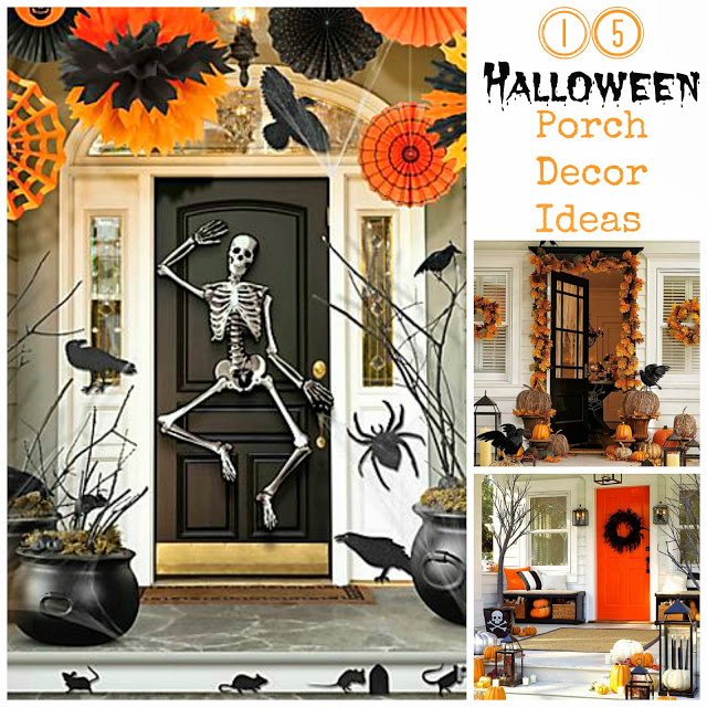 15 Halloween Porch Decor Ideas