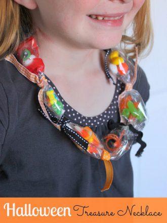 Kids' Craft: Halloween Treasure Necklace