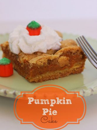 Pumpkin Pie Cake: October Mystery Dish Challenge