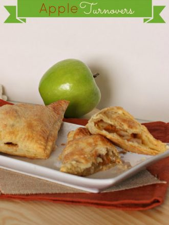 Puff Pastry Apple Turnovers: November Mystery Dish Challenge