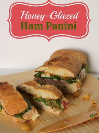 Honey-Glazed Ham Panini: Stream While You Steam with Netflix