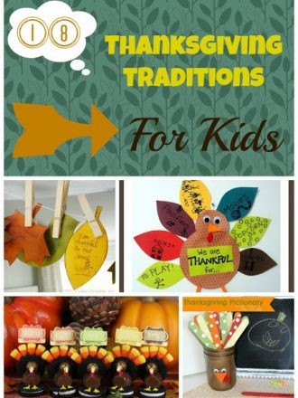 18+ Fun Thanksgiving Traditions for Kids