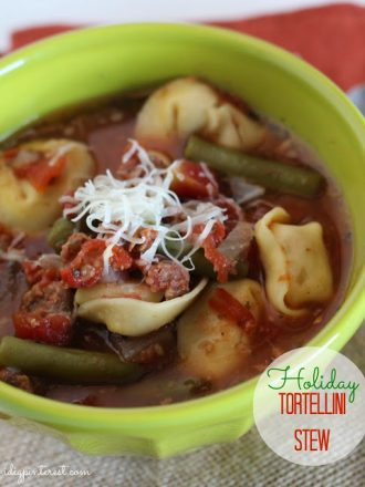 Slow-Cooker Holiday Tortellini Stew