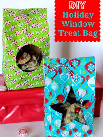 DIY Holiday Window Treat Bag