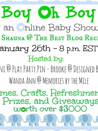 """A Virtual Baby Shower & the """"Mother""""load of all Baby Gear Giveaways!!!"""