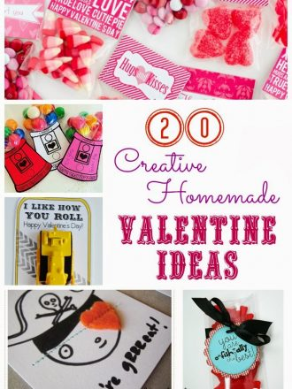 20 Creative Homemade (Including Non-Sugary) Valentine Ideas