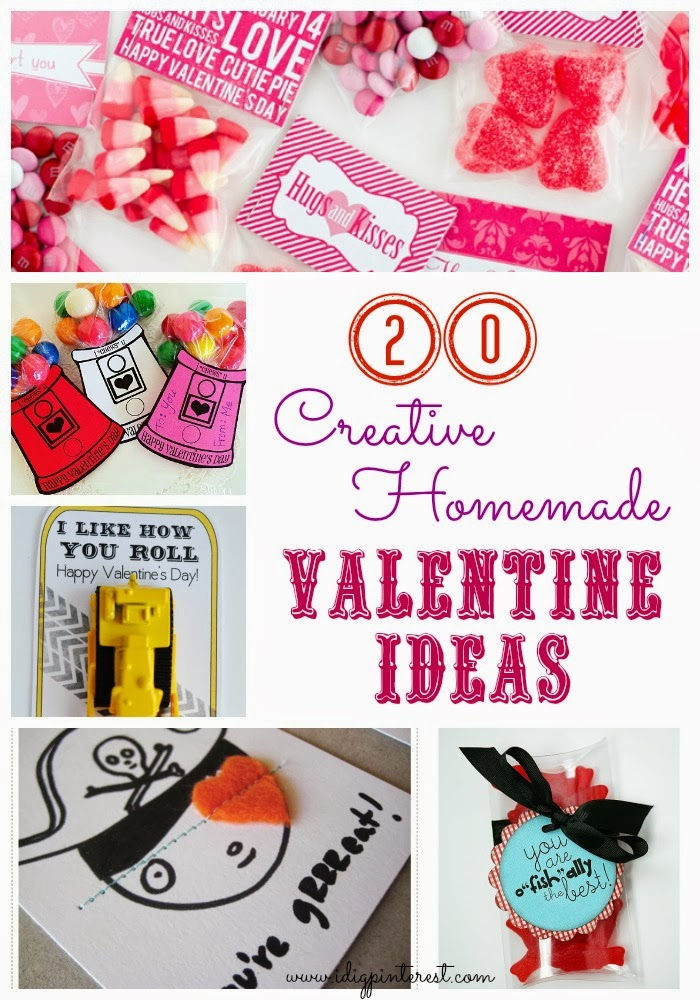 20 Creative Homemade Including Non Sugary Valentine Ideas I Dig