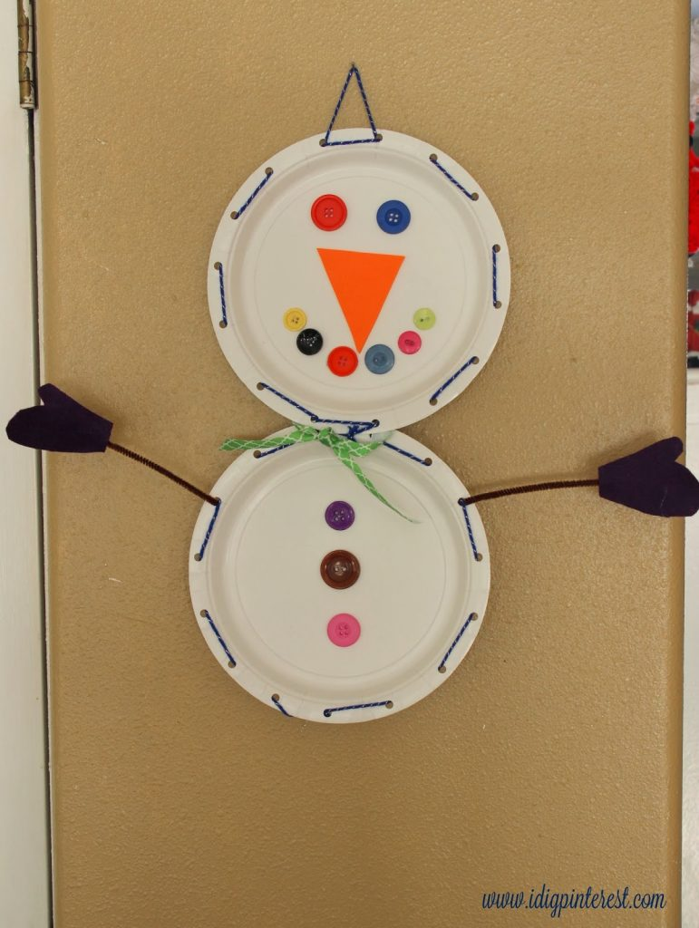Winter kids crafts paper plate snowman and pasta snowflakes i winter kids crafts paper plate snowman and pasta snowflakes jeuxipadfo Gallery