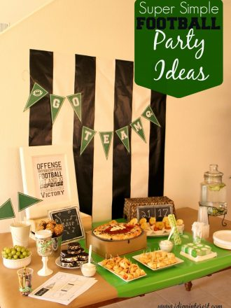 Super Simple Football Party Ideas
