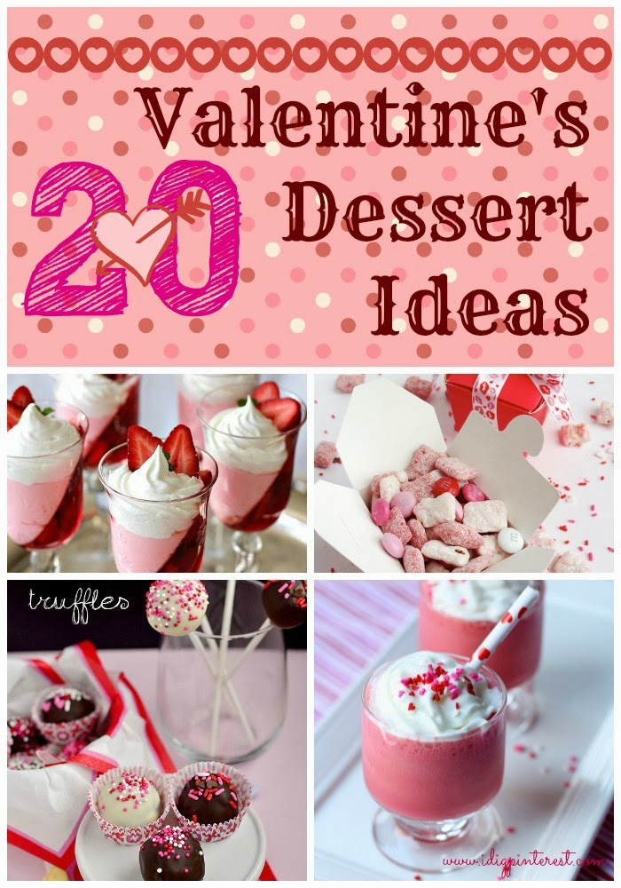 20 perfect valentine 39 s day desserts i dig pinterest for Things to do on valentine s day near me