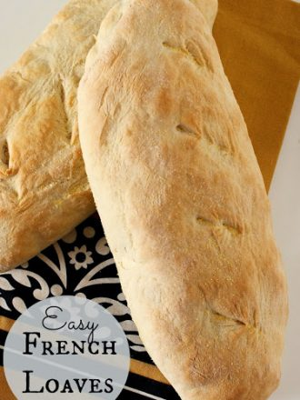 Easy French Loaves