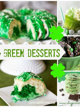 15 Green Desserts for St. Patrick's Day