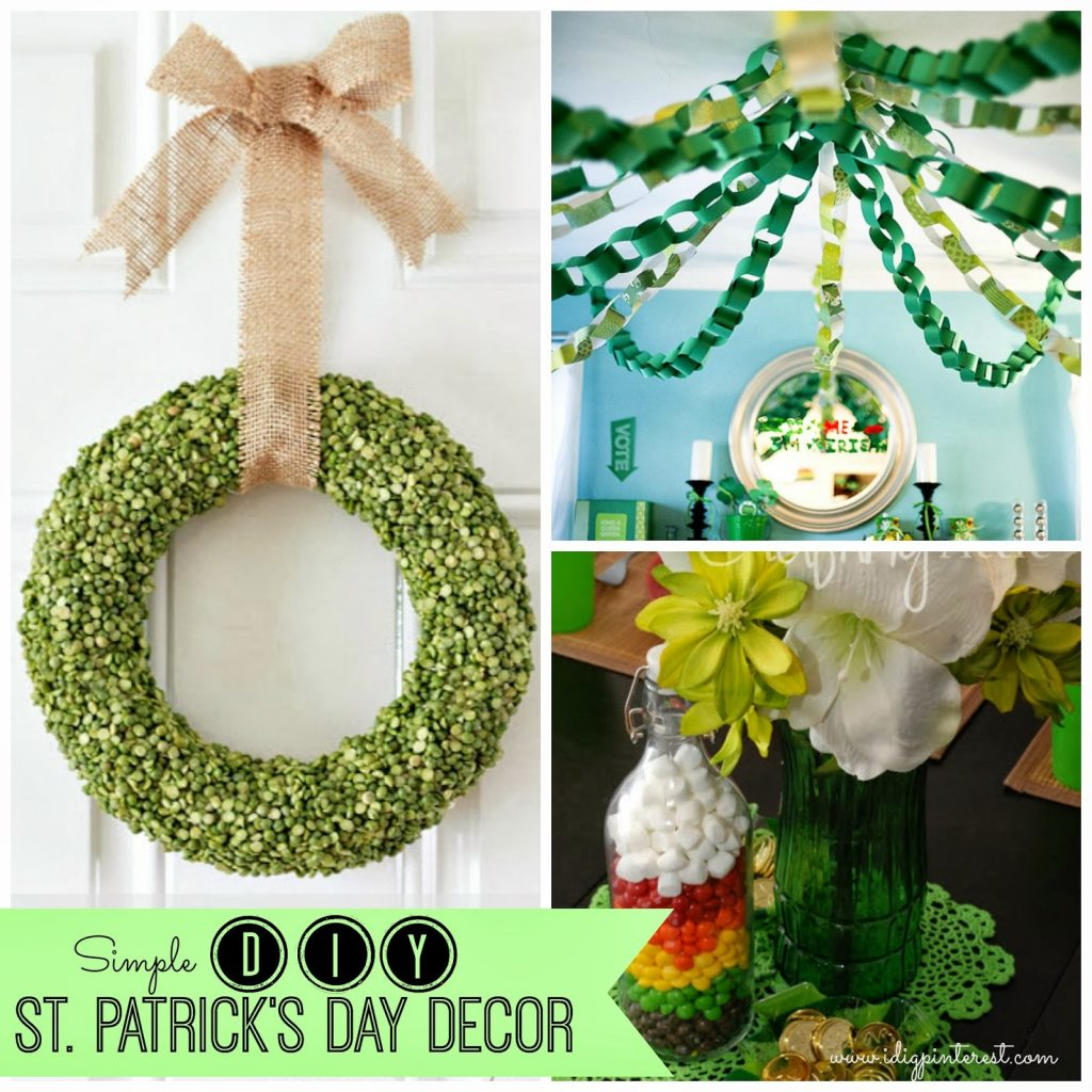 Simple inexpensive diy st patrick 39 s day decor i dig for Decor st