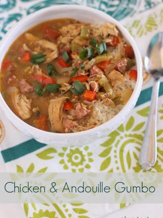 Chicken & Andouille Gumbo