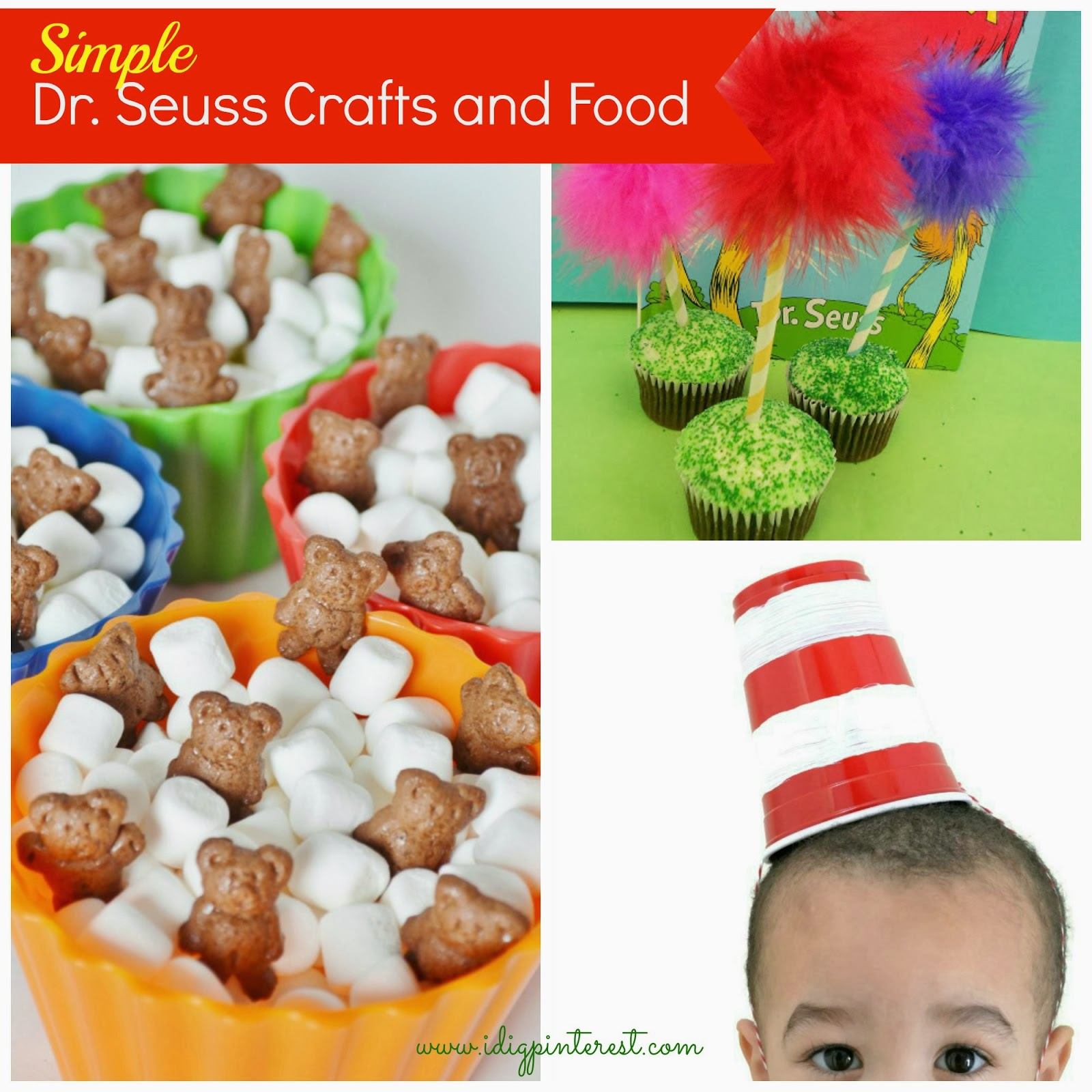 13 simple dr seuss crafts and food ideas for kids i dig for Fun kid food crafts