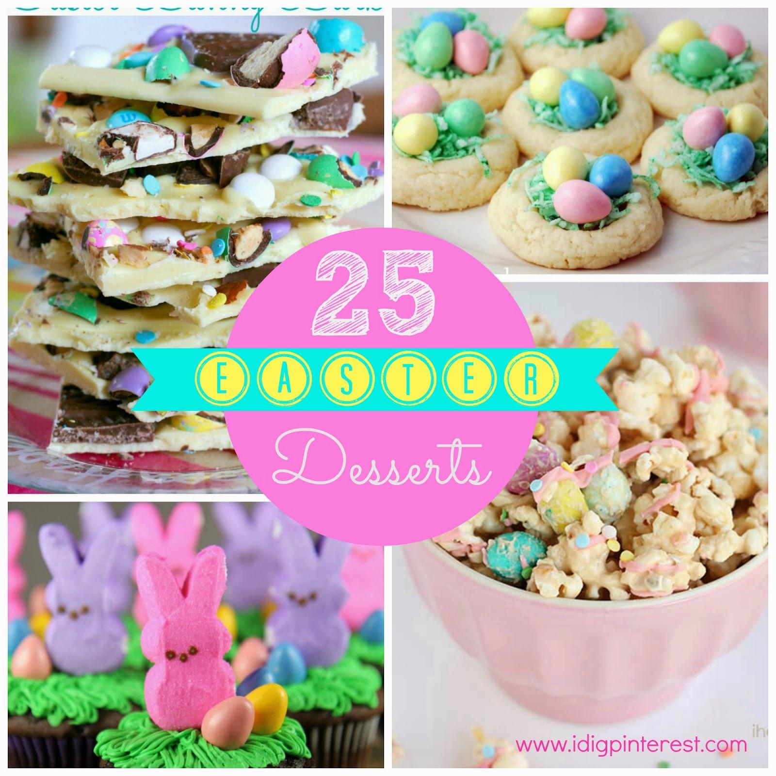 25 Pretty & Yummy Easter Desserts