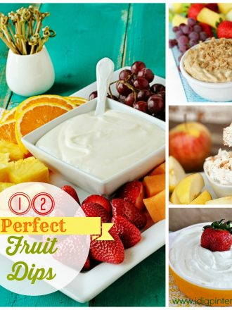 12 Perfect Fruit Dips