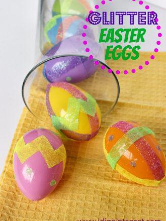 Glitter Easter Eggs Kids' Craft