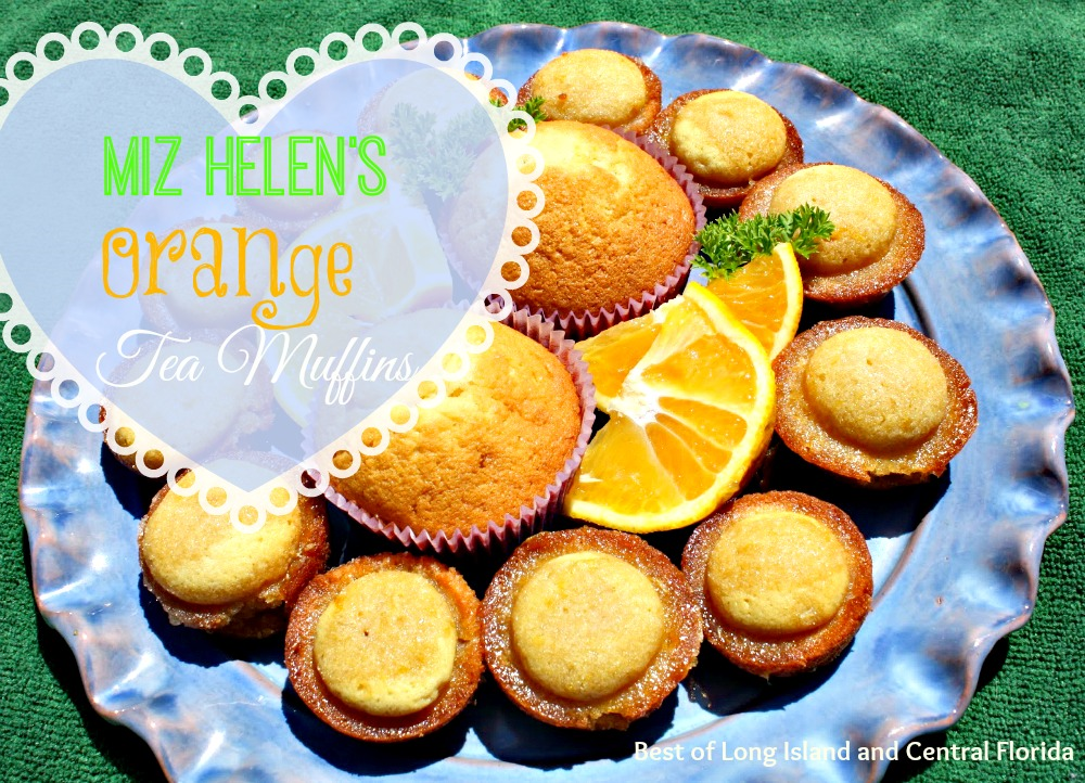 muffin recipes, orange tea muffin recipe from Miz Helen's Country Cottage