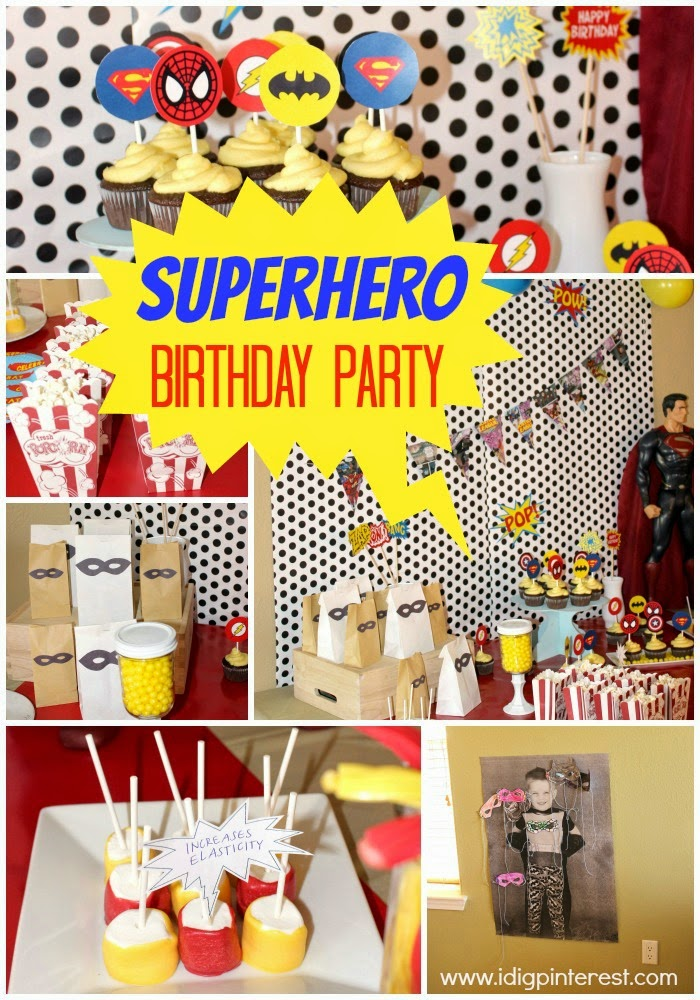 The Theme Of Party Was A No Brainer Since My Son Is Obsessed With All Things Superhero Right Now I Had Blast Styling Elements From