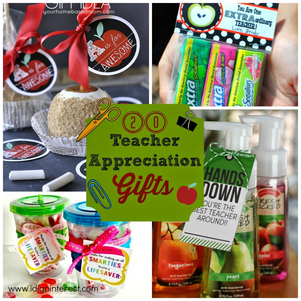 20 Inexpensive & Creative Teacher Appreciation Gifts! So perfect!