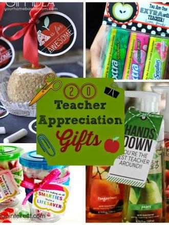 20 Inexpensive & Creative Teacher Appreciation Gifts