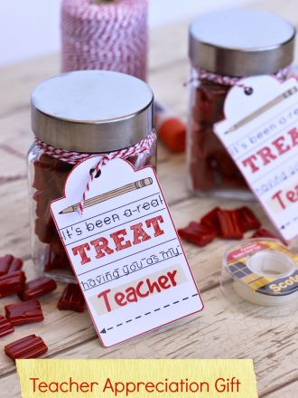 Teacher Appreciation Gift {Free Printable} & Kindle Giveaway!