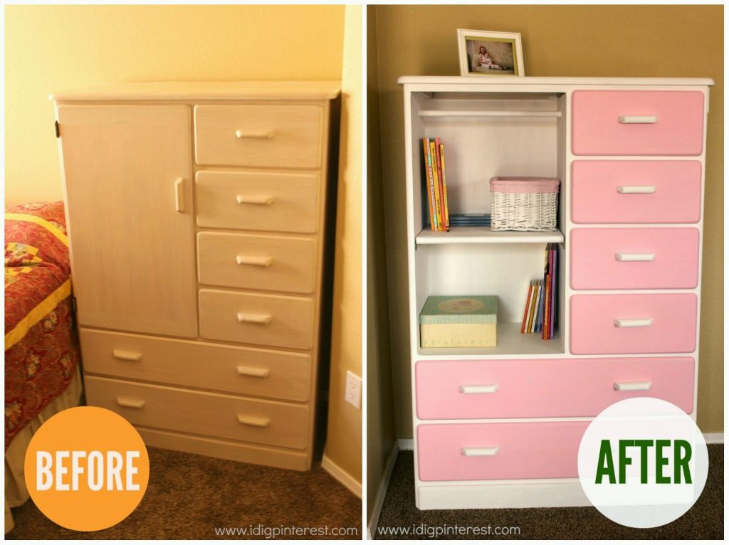 Dresser Makeover With Americana® Decor™ Chalky Finish