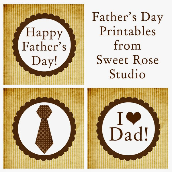 18 FATHER'S DAY { Free Printables} - I Dig Pinterest