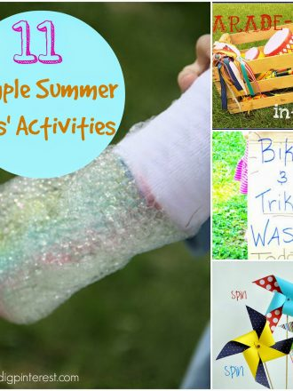 11 Simple Summer Activities for Kids: Summer Camp Link Party Features